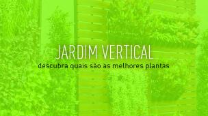 foto de um jardim vertical