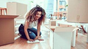 limpar piso de madeira