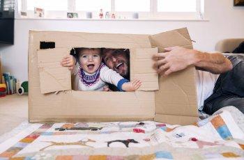 5 ideias de brincadeiras para dentro de casa com as crianças
