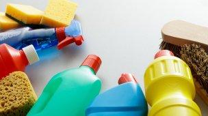 Produtos para limpar a casa